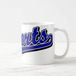 Roberts en azul tazas de café