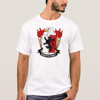 Roberts Family Coat of Arms T-Shirt