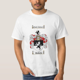 Roberts Family Crest - Roberts Coat of Arms T-Shirt