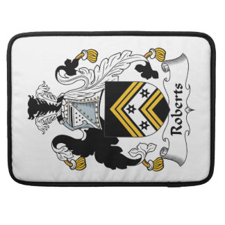 Roberts Family Crest Sleeves For MacBooks