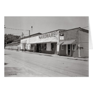 Roberts Hardware-McMinnville Tennessee Greeting Card