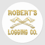 Robert's Logging Company Stickers
