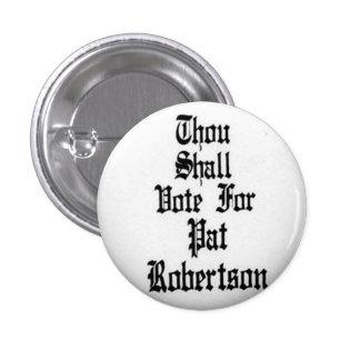 Robertson - botón pin redondo de 1 pulgada