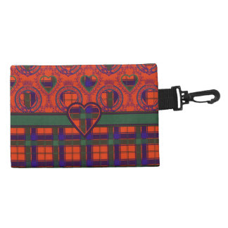 Robertson clan Plaid Scottish tartan Accessory Bags