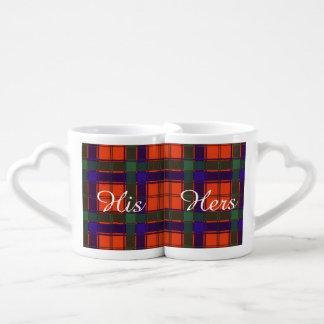 Robertson clan Plaid Scottish tartan Couples Coffee Mug