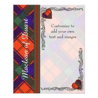 Robertson clan Plaid Scottish tartan Flyer