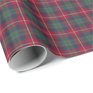 Robertson Clan Tartan Wrapping Paper