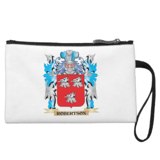 Robertson Coat of Arms - Family Crest Wristlet Clutches