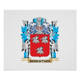 Robertson Coat of Arms - Family Crest Posters