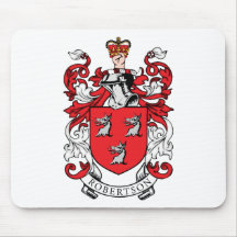 Robertson Family Coat of Arms Mouse Pad