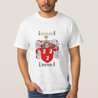 Robertson Family Crest - Robertson Coat of Arms T-Shirt