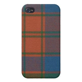 Robertson Red Ancient Tartan iPhone 4 Case