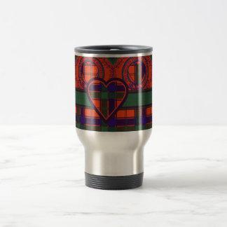 Robertson Scottish Tartan Travel Mug