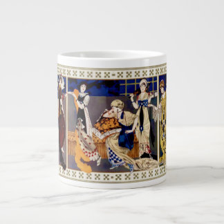 Robes style Bakst realisees par Paquin Giant Coffee Mug