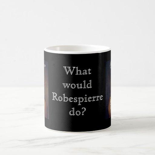Robespierre 1 con el blackadder taza de café