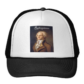 Robespierre 1 with blackadder trucker hat