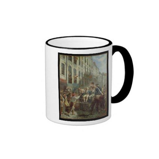Robespierre y Santo-Apenas Taza De Café