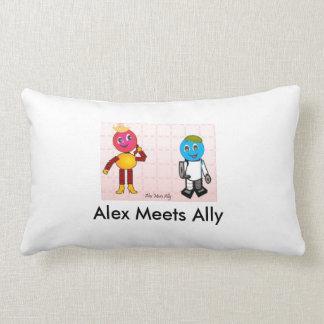 Robetic Alex And Ally Alex Meets Ally Fun Photo Pillows