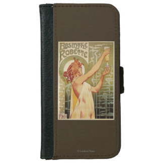 Robette Absinthe Advertisement Poster Wallet Phone Case For iPhone 6/6s