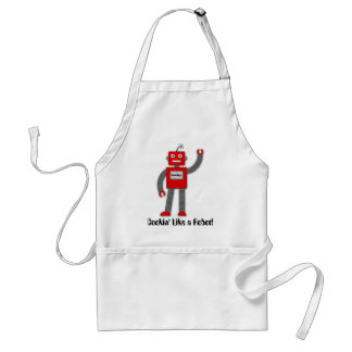 Robi the Retro Robot Apron