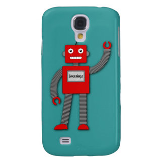 Robi the Retro Robot iPhone 3G Speck Case Galaxy S4 Case