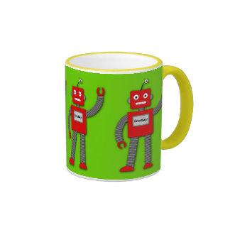 Robi the Retro Robot Mug