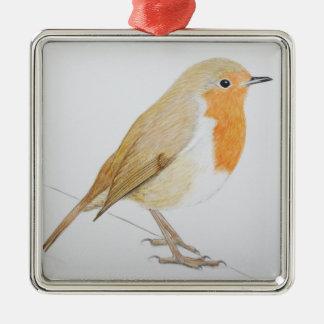 Robin 2011 metal ornament
