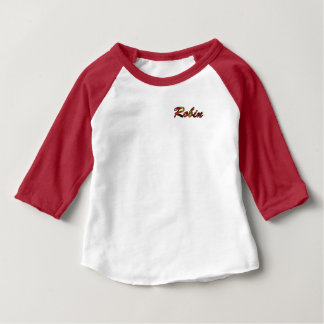 Robin American Apparel 3/4 Sleeve Raglan T-Shirt