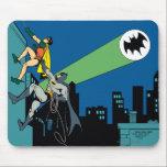 """Robin And Batman Climb Mouse Pad<br><div class=""""desc"""">Batman TV Series (1966)</div>"""