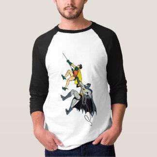 Robin And Batman Climb T Shirt