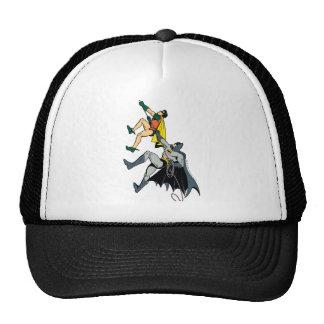Robin And Batman Climb Trucker Hat