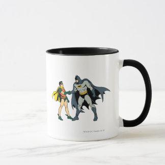 Robin And Batman Handshake Mug