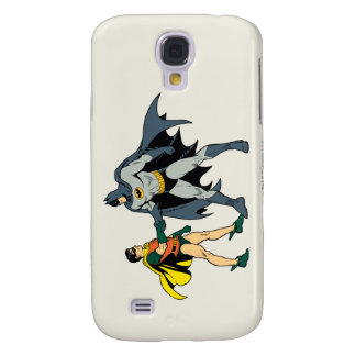 Robin And Batman Handshake Samsung Galaxy S4 Cover