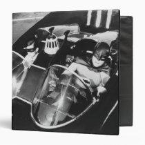 vintage, retro, robin batman batmobile photo, batman, bat man, 1966 batman, 60's batman, batman action callout, action words, fighting sound effect words, punching sounds, adam west, burt ward, batman tv show, batman cartoon graphics, super hero, classic tv show, Binder with custom graphic design