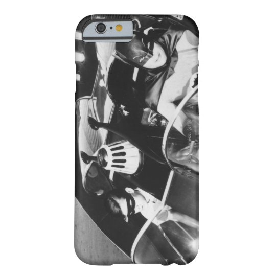 Robin and Batman in Batmobile Barely There iPhone 6 Case