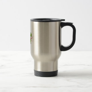 ROBIN AND BUTTERFLIES 15 OZ STAINLESS STEEL TRAVEL MUG