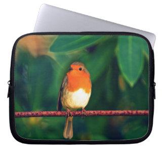 Robin bird laptop sleeves