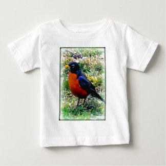 Robin Bird Tee Shirt Wildlife