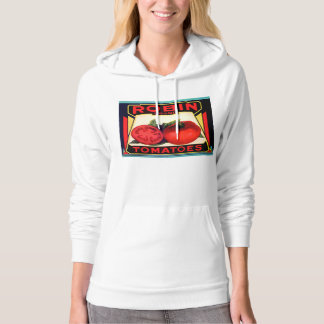 Robin Brand Tomatos Label Hooded Pullover