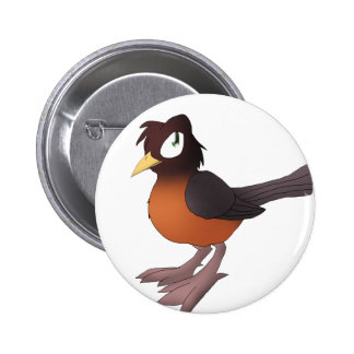 Robin Button 2 Inch Round Button
