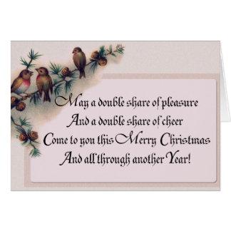 Robin Christmas Gifts! Greeting Card