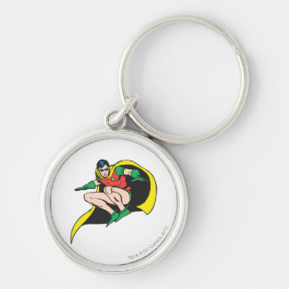Robin Crouches Keychain