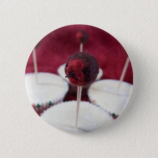 Robin Cupcakes Button