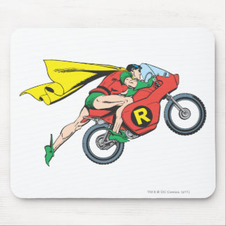 Robin & Cycle Mouse Pad