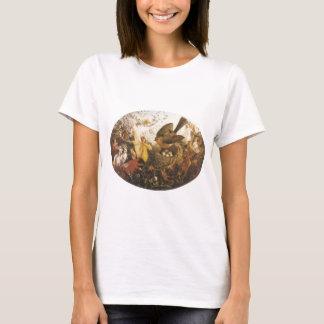 Robin Defending His Nest  - John Anster Fitzgerald T-Shirt