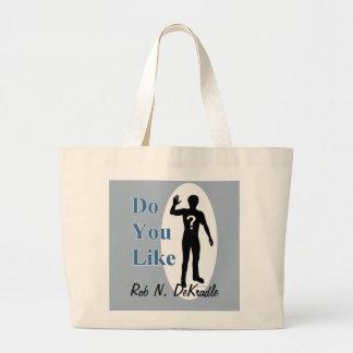 Robin DeKradle name pun Jumbo Tote Bag
