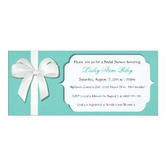 Robin Egg Blue Custom Bridal Shower Invites