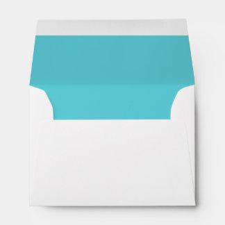 Robin Egg Blue Envelope