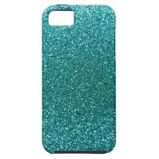 Robin egg blue glitter iPhone SE/5/5s case