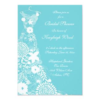"Robin egg custom bridal shower invite 5"" x 7"" invitation card"